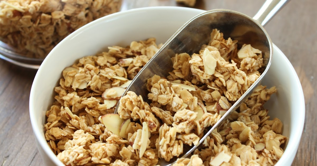 040 french vanilla almond granola